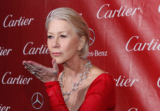 Helen Mirren, Celebrities Who Rock Gray Hair