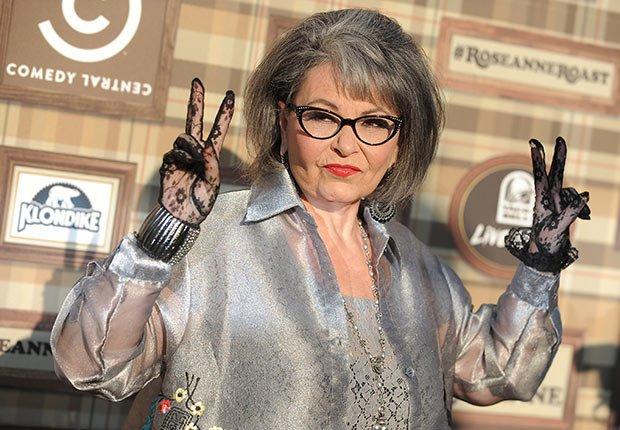 Roseanne Barr, Celebrities Who Rock Gray Hair