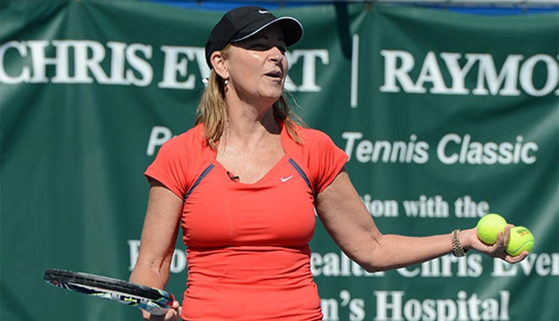 Chris Evert, 60
