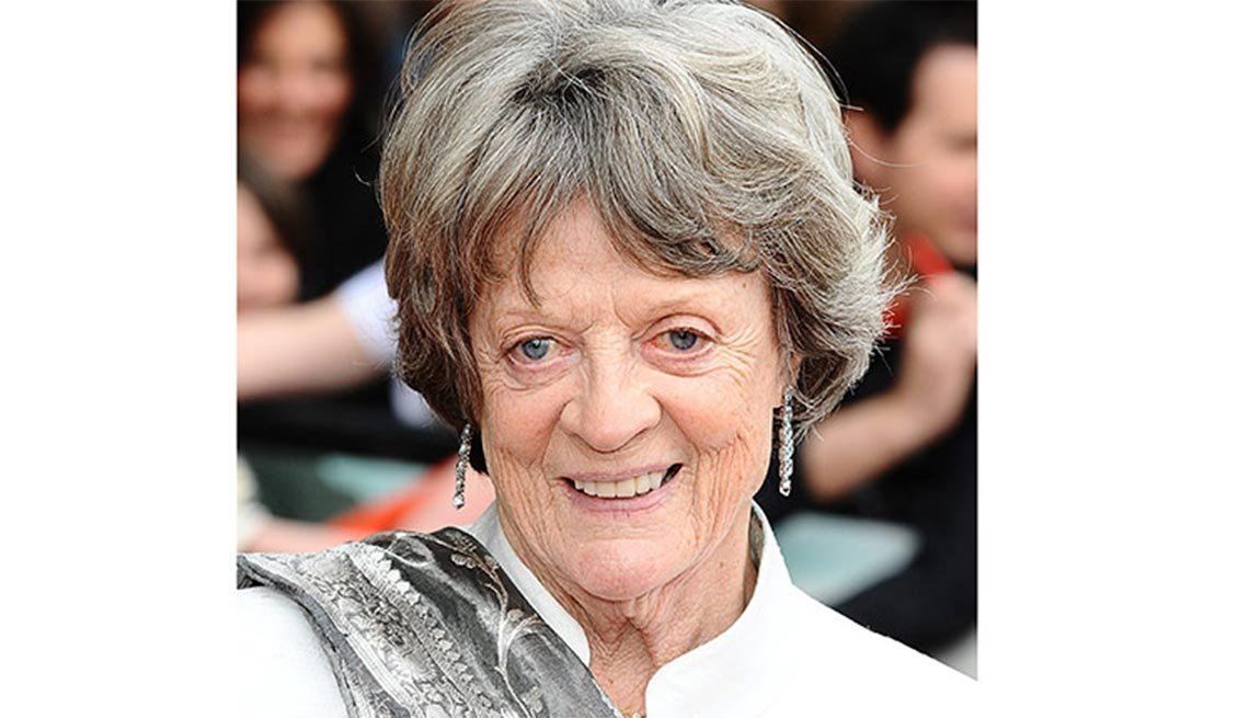 Maggie Smith, 80