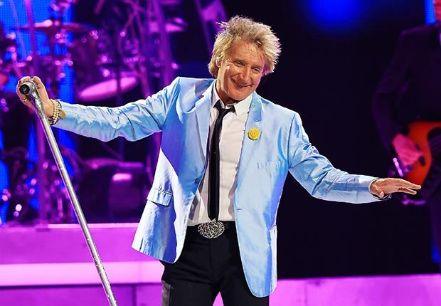 Rod Stewart, January Milestone Birthdays