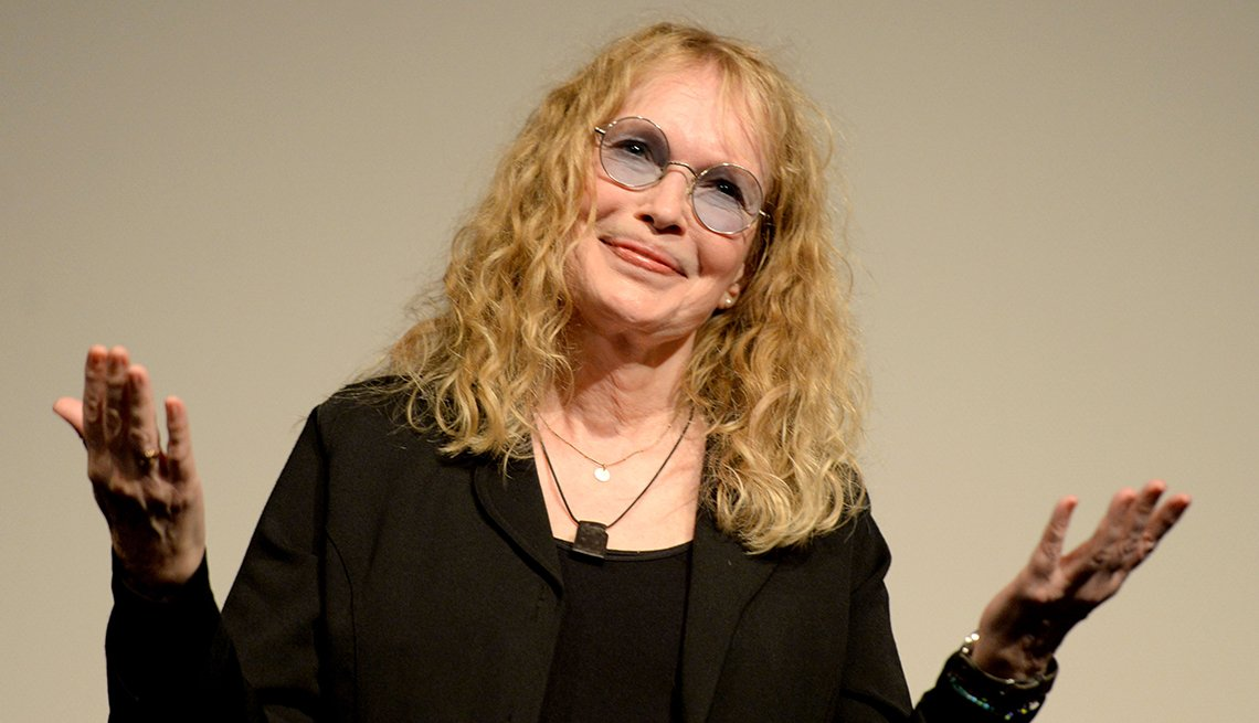 Actress, Mia Farrow, February 2015 Celebrity Birthday Milestones