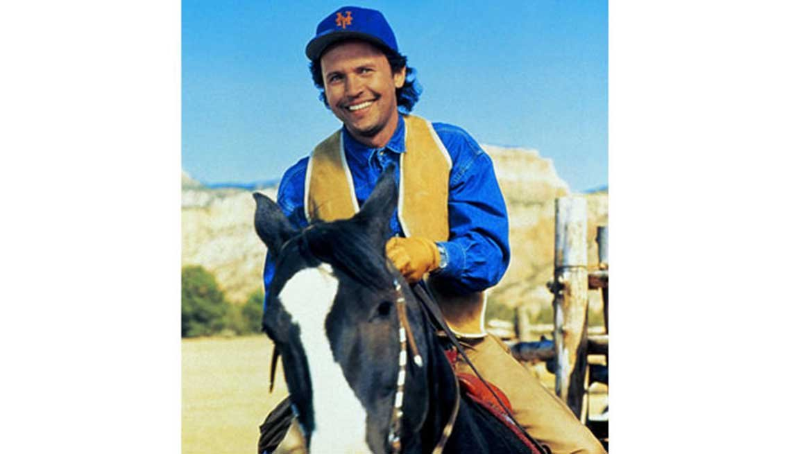 Billy Crystal en una escena de la película City Slickers