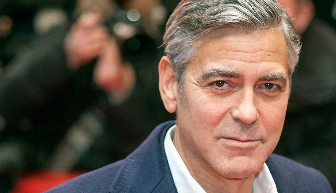 21 Sexiest Men Over 50, George Clooney