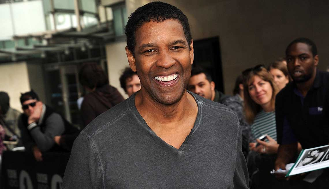 21 Sexiest Men Over 50, Denzel Washington