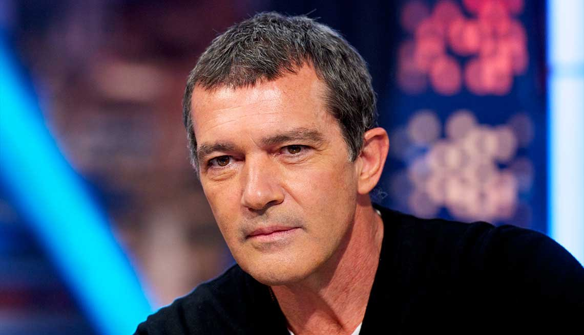 21 Sexiest Men Over 50, Antonio Banderas