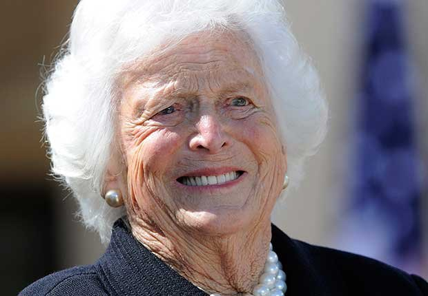 June Milestone Birthdays, Barbara Bush