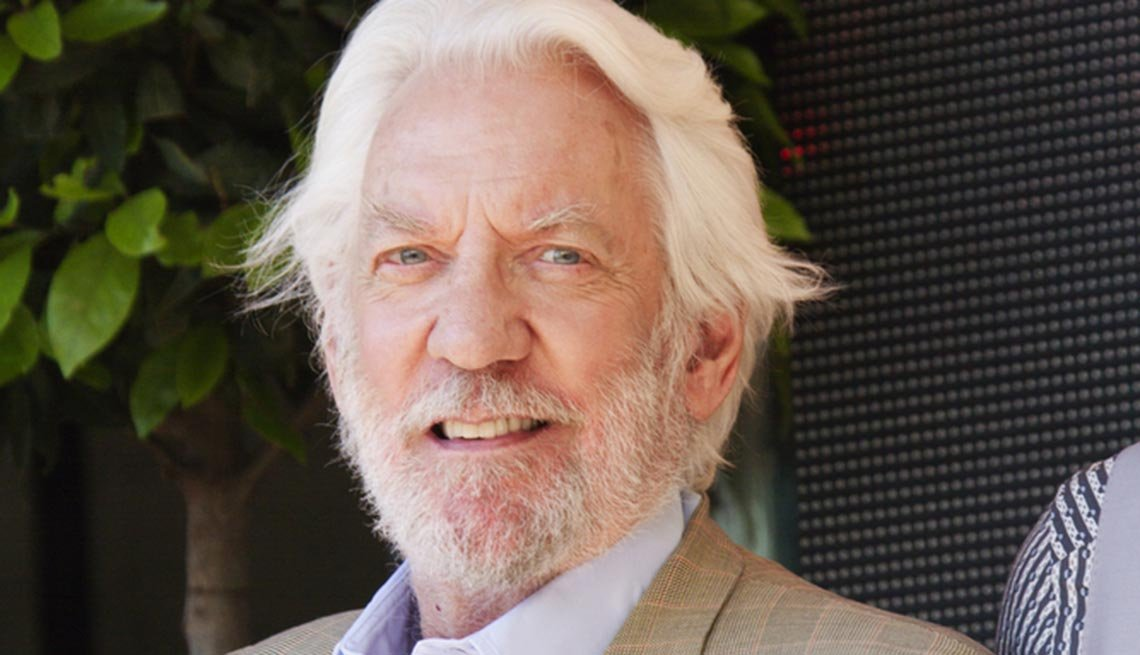 July 2015 Milestone Birthdays, Donald Sutherland