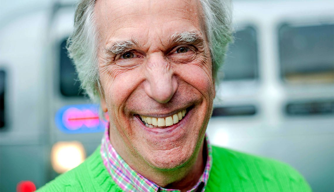 October Milestone Birthdays, Henry Winkler