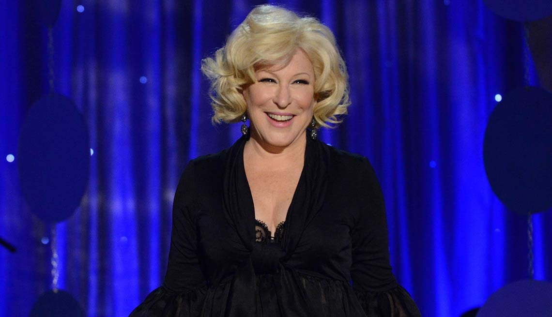 2015 December Milestone Birthdays, Bette Midler