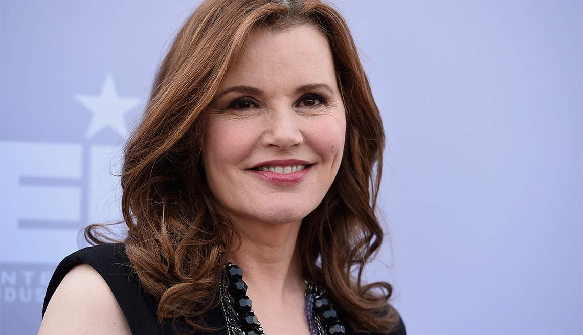 January Milestone Birthdays, Geena Davis