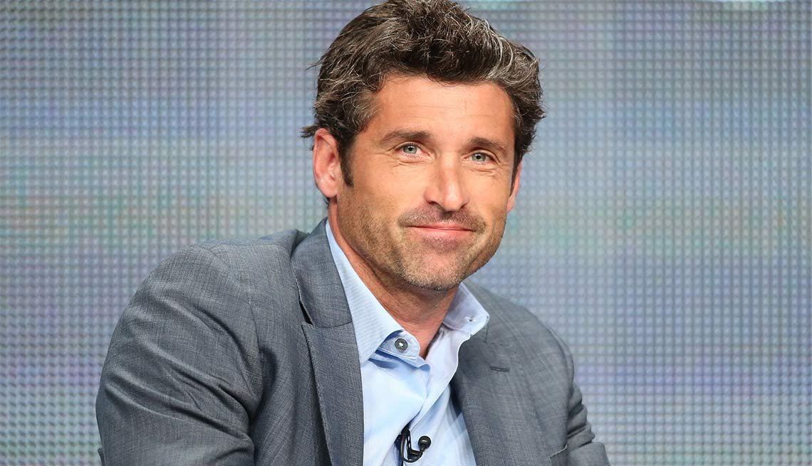 January Milestone Birthdays, Patrick Dempsey