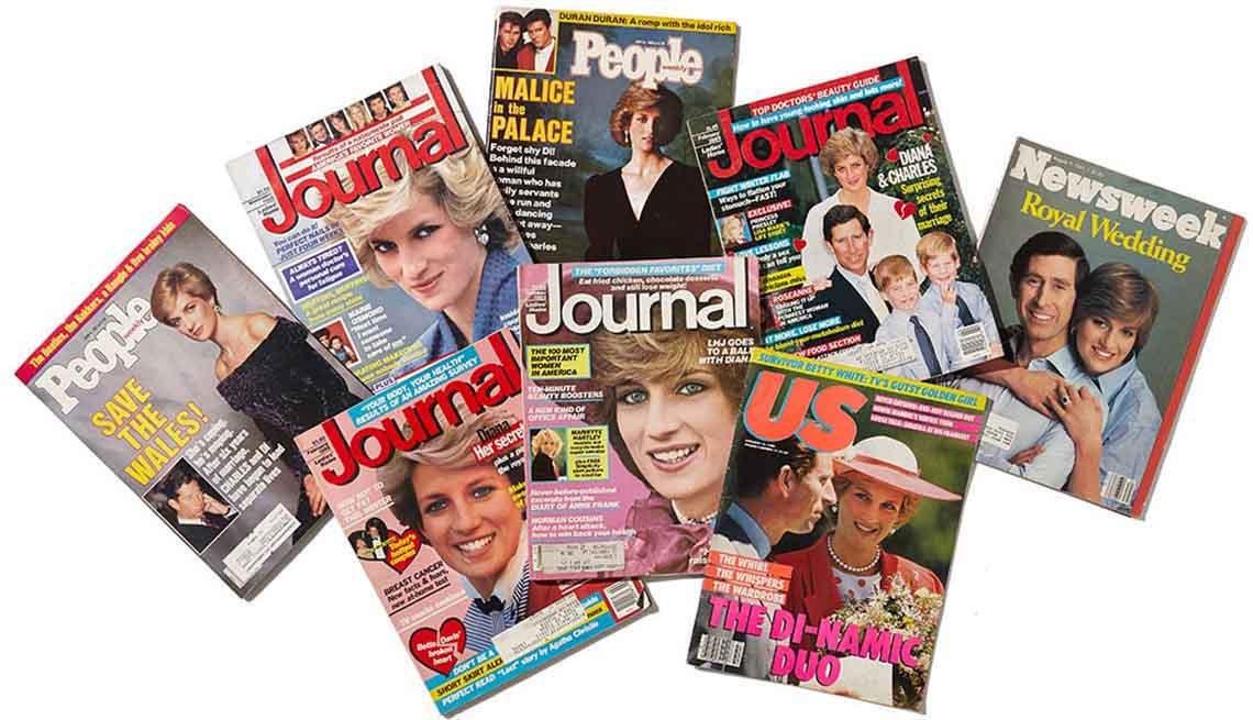 Princess Diana Magazine Covers