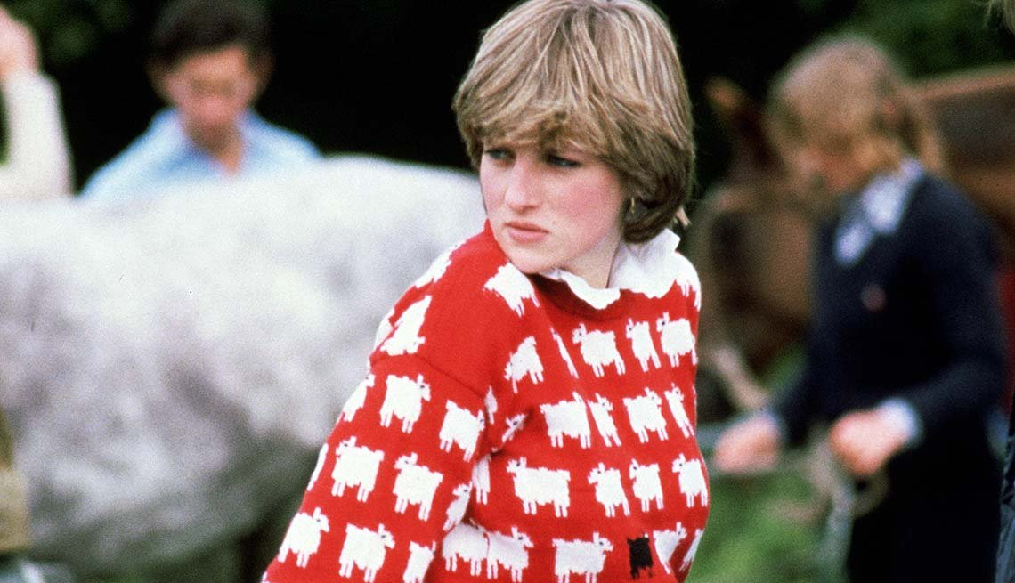 Princess Diana and The Sheep Sweater
