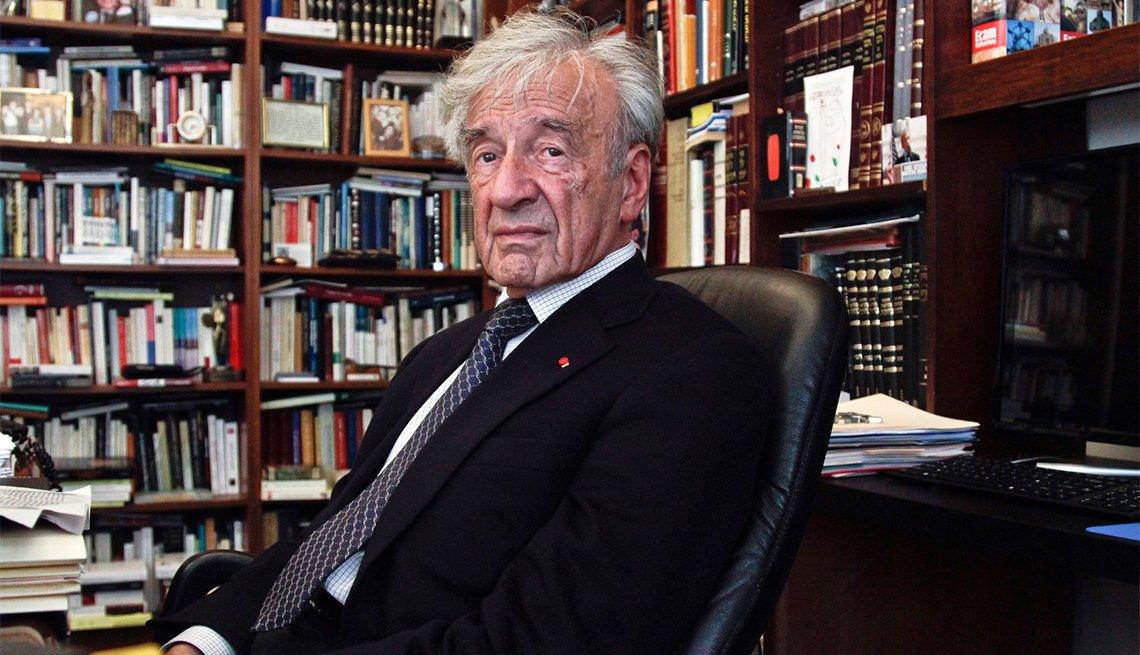 Elie Wiesel, writer, professor and political activist, 87