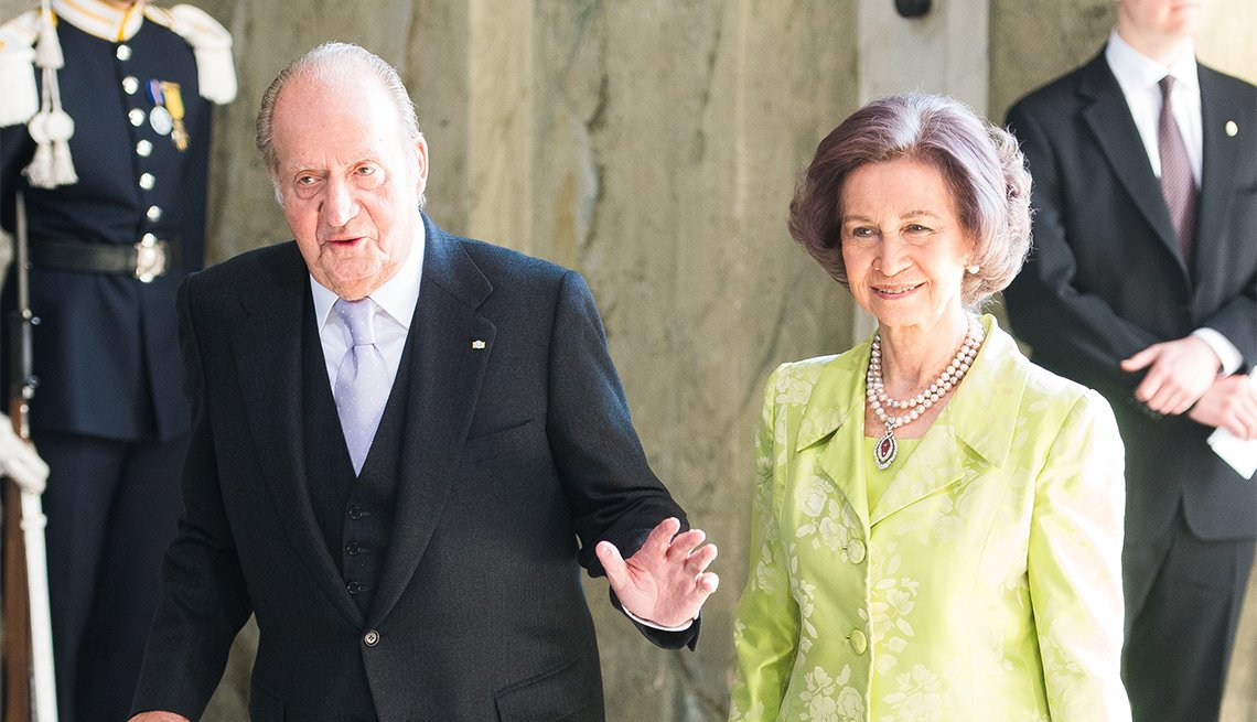 King Juan Carlos of Spain and Queen Sofia