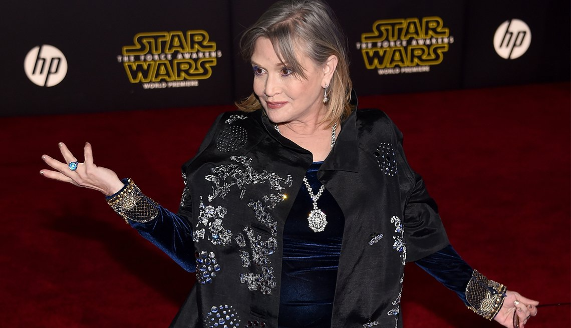 Carrie Fisher, 60