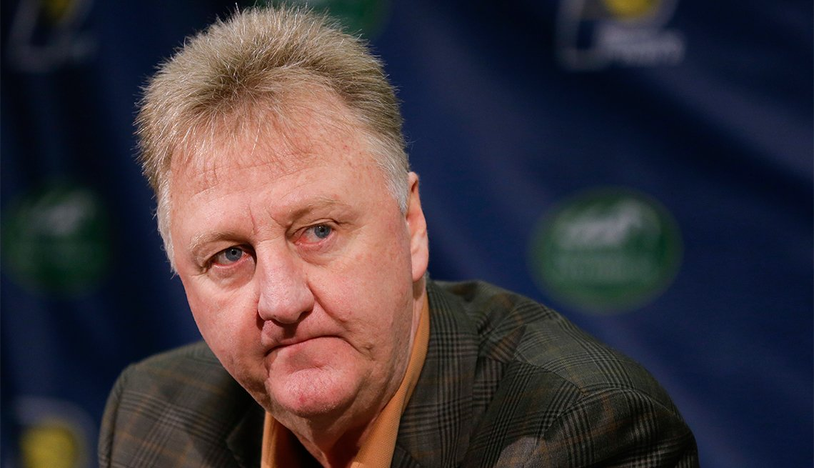 Larry Bird, 60