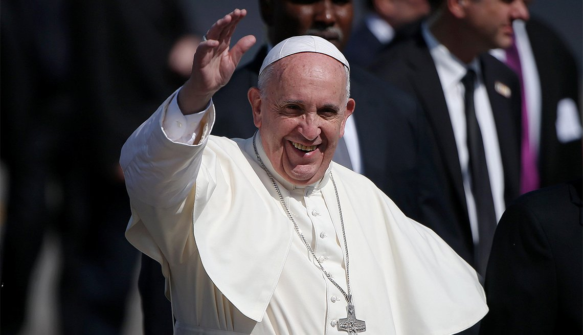 Pope Francis, 80