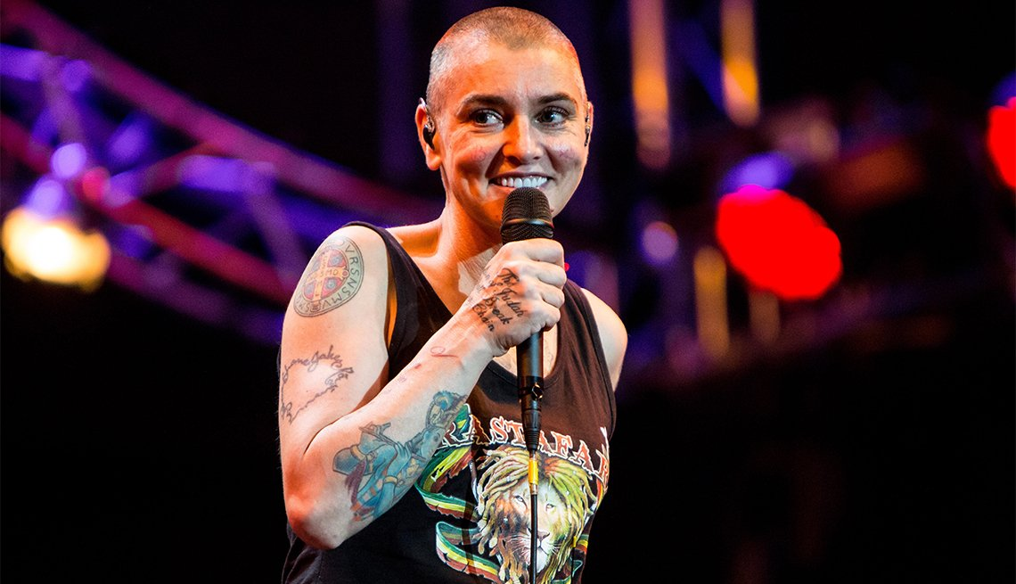 Sinead O'Connor, 50