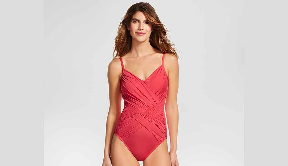 Target Women's Draped One-Piece by Merona