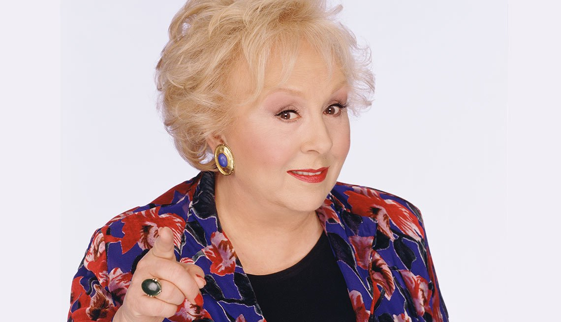 Famous People Lost 2016, Doris Roberts, actress, 90