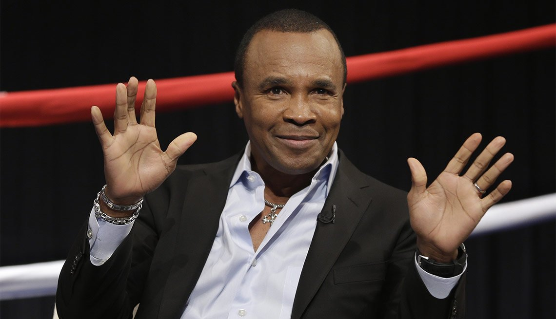 May 2016 Milestone Birthdays, Sugar Ray Leonard, 60