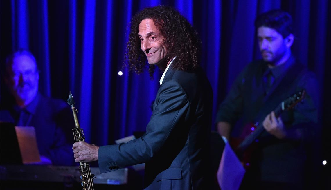 June 5, Kenny G, 60