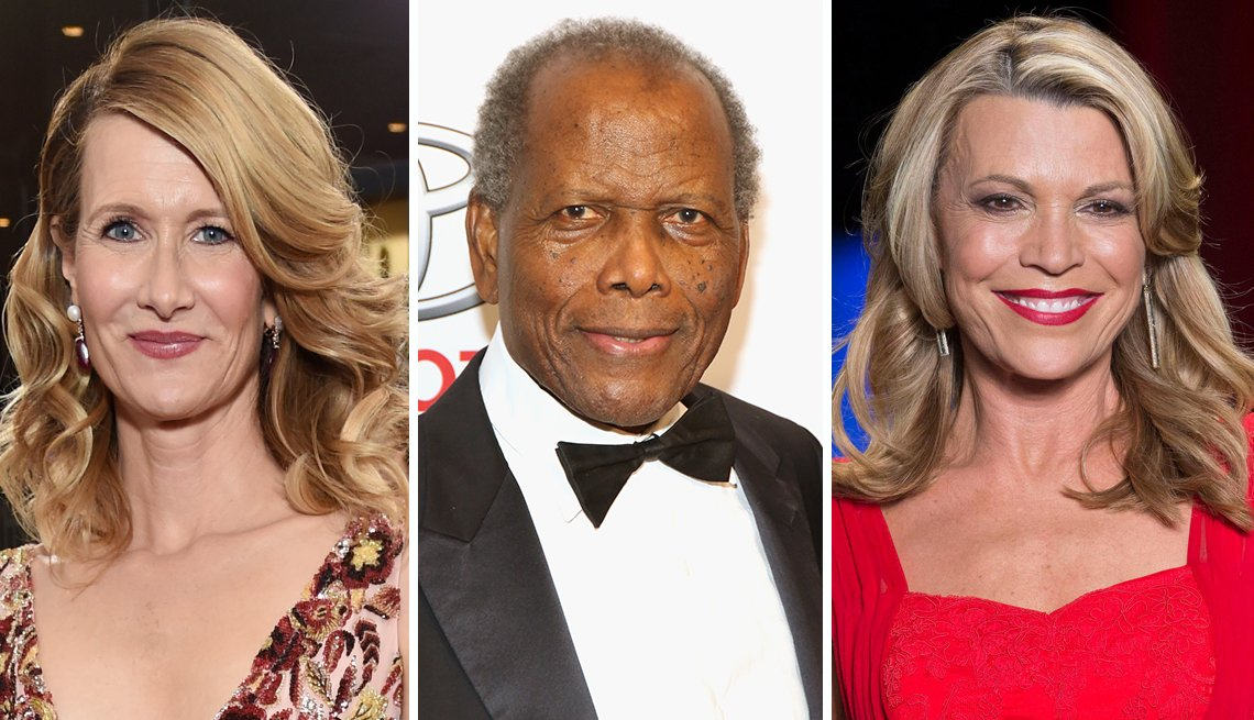 February Milestone Birthdays, Laura Dern, Sidney Poitier, Vanna White