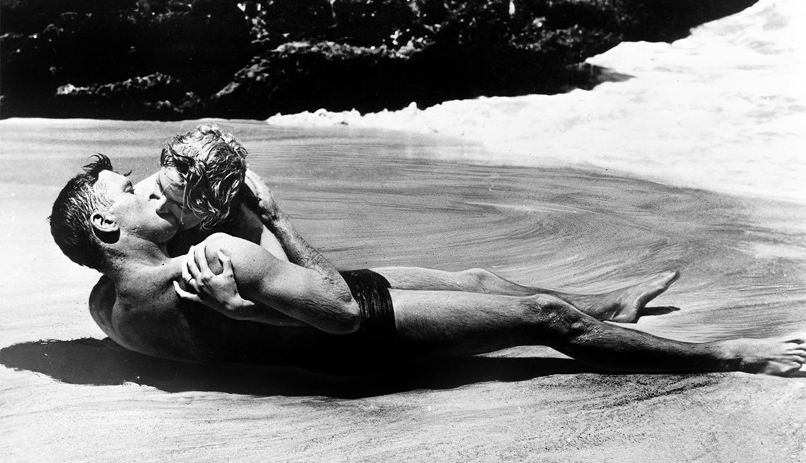 Burt Lancaster and Deborah Kerr from 'Here to Eternity'