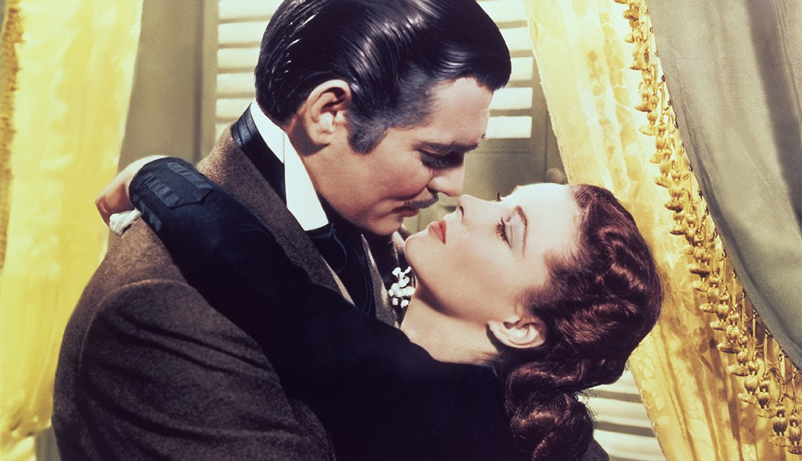 Clark Gable and Vivien Leigh from 'Gone With the Wind'