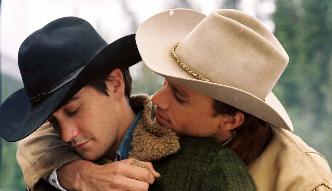Jake Gyllenhaal and Heath Ledger from 'Brokeback Mountain'