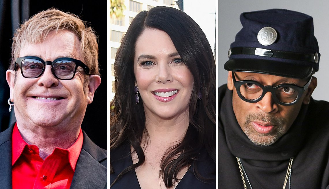 Elton John, Lauren Graham and Spike Lee have birthdays in March
