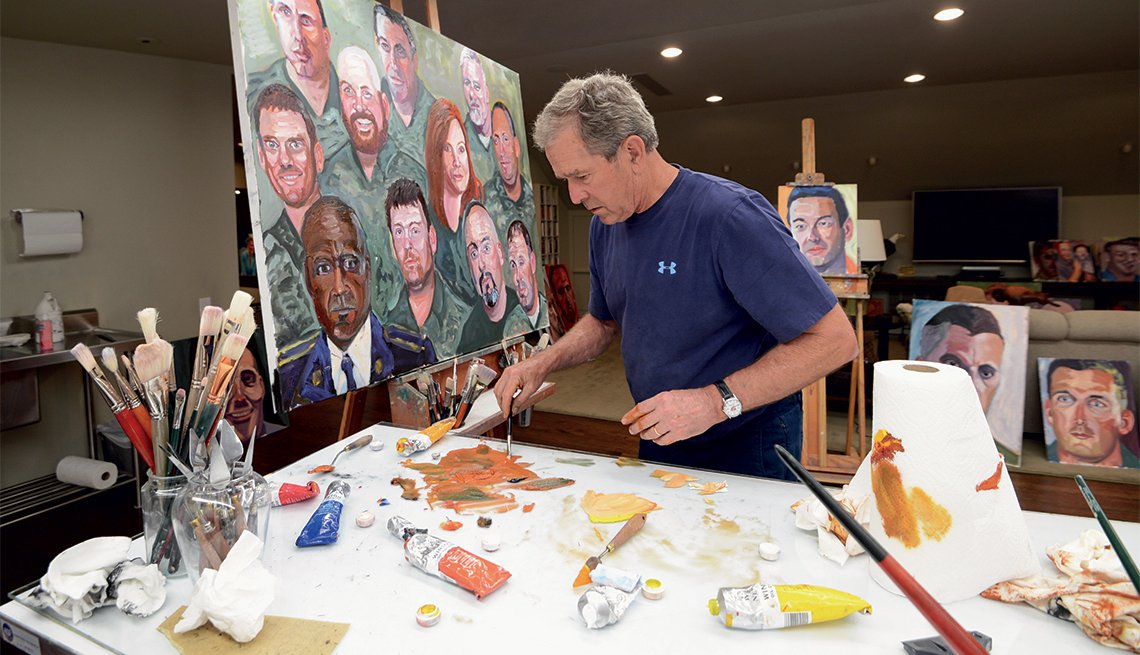 George W. Bush--Portraits of Courage
