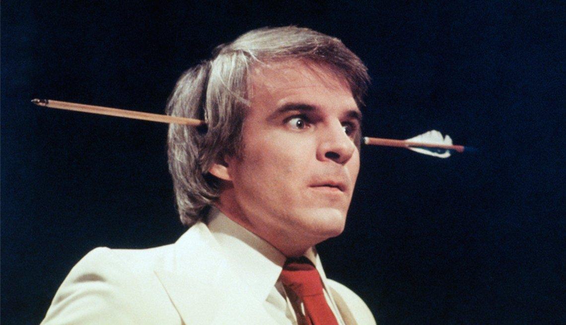 En Saturday Night Live - La carrera del comediante Steve Martin a través de los años