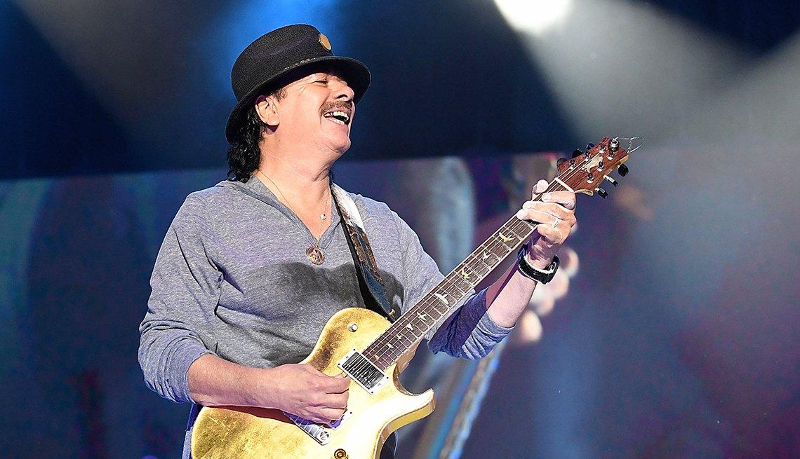 Carlos Santana, 70