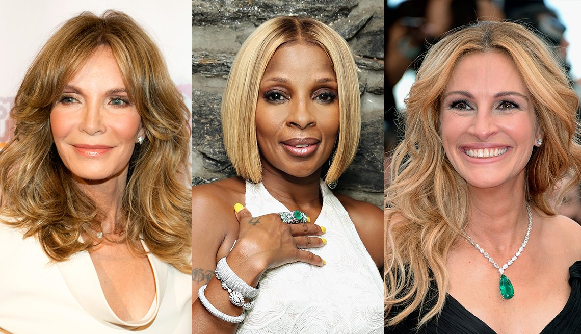 Jaclyn Smith, Mary J. Blige and Julia Roberts