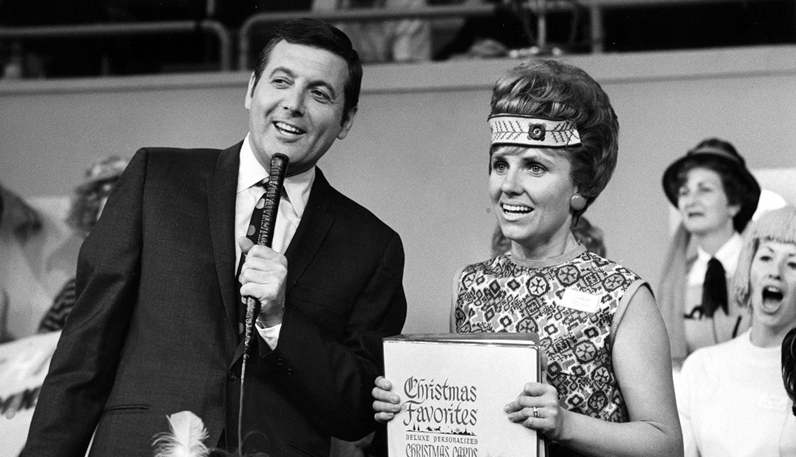 Monty Hall on 'Let's Make a Deal' in 1968