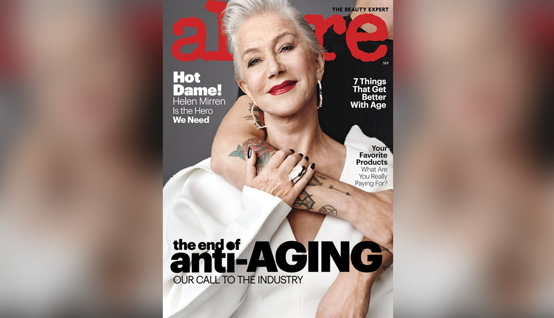 Allure' Drops Term 'Anti-Aging' From its Pages