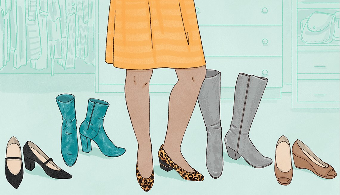 Pairing the right shoe with the right hemline can help you look and feel your best