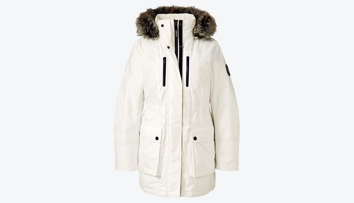 Lands' End Expedition Down Parka in Snowdrift