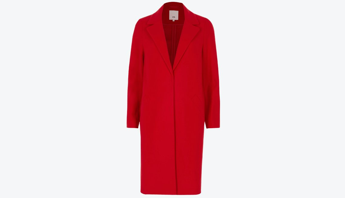 River Island Red Tailored Coat