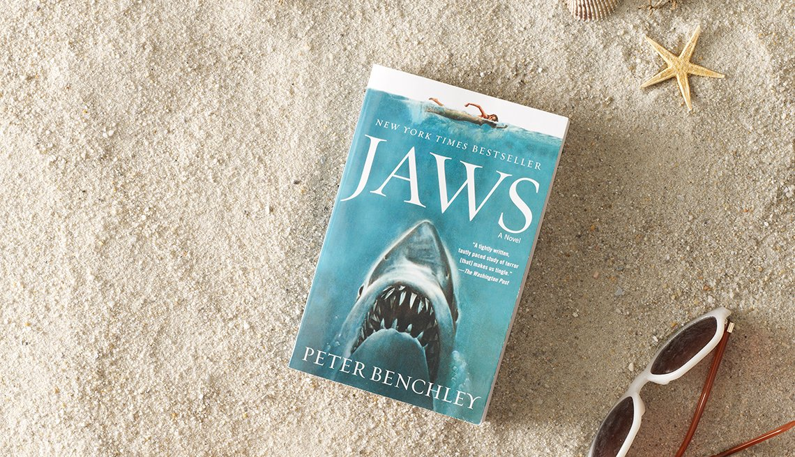 Jaws, Book, Fiction, Summer Reading