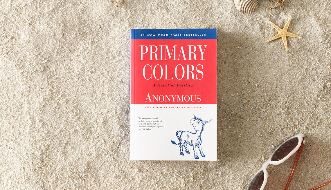 Primary Colors, Book, Novel, Summer Reading