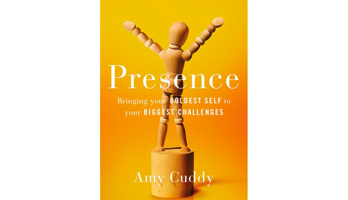 The self-help book 'Presence' by Amy Cuddy can help you gain confidence