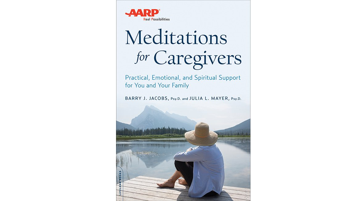 Meditations for Caregivers book cover
