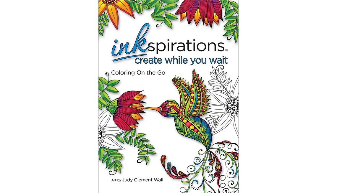 Create While You Wait coloring book