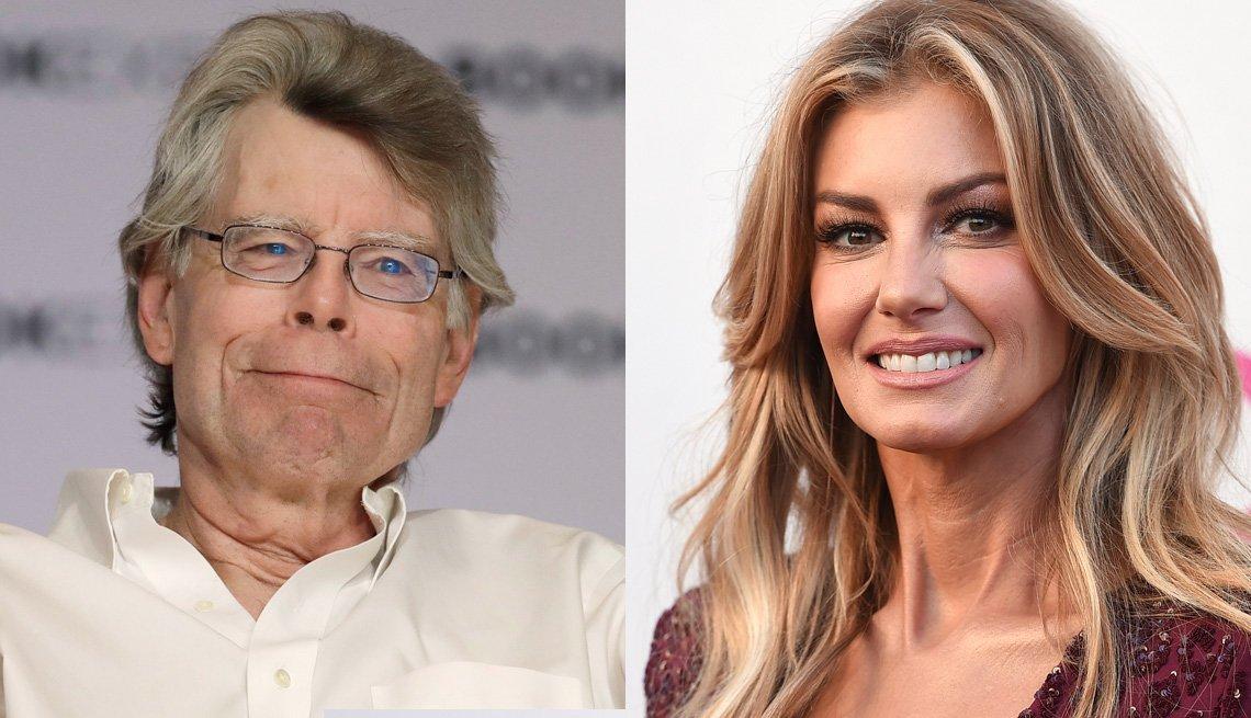 Stephen King and Faith Hill both celebrate September birthdays