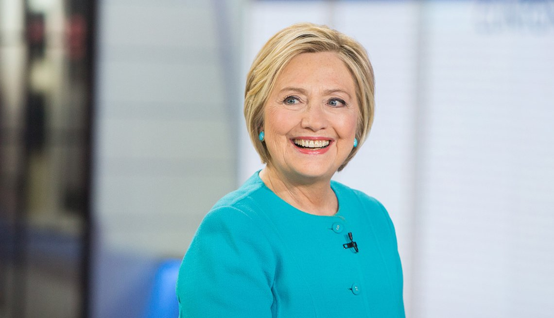 October 26: Hillary Clinton, 70