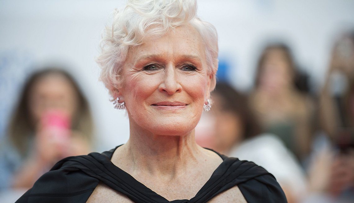 Glenn Close at The Toronto Internatioal Film Festival